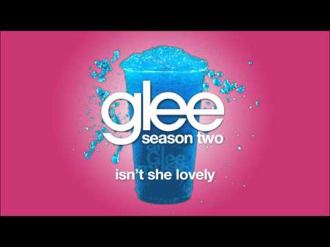 Isn't She Lovely | Glee [HD FULL STUDIO]