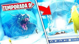 *NEW* THE POLAR PICO ICEBERG *OPENS* AND REVEALS THE SECRET OF YOUR INTERIOR IN FORTNITE...