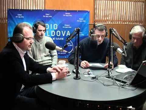 Radio Moldova  Contrapunct  Invitati   Iurie Bolboceanu, Mihai Godea, Radu Busila
