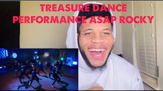 American reacts to treasure dance performance (a$ap rocky - wild for the night) reaction video