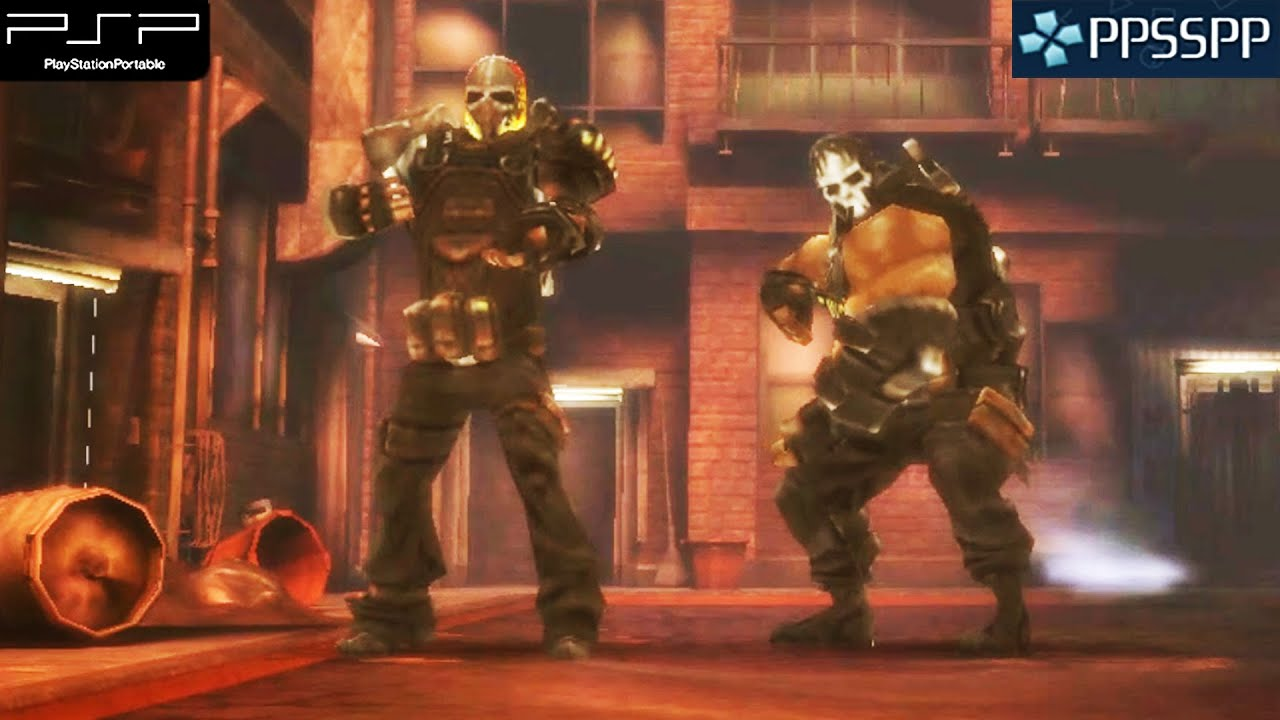 army of two the 40th day psp gameplay 1080p ppsspp