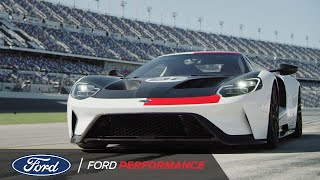 2021 Ford GT Heritage Edition with Peter Miles and Joey Hand | Ford Performance