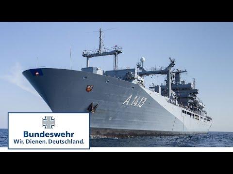 """Was kann der Einsatzgruppenversorger """"Bonn"""" der Bundeswehr?"""