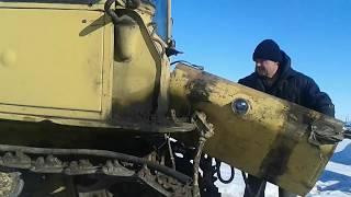 Начало ремонта ДТ 75 . Подготовка техники к посевной.