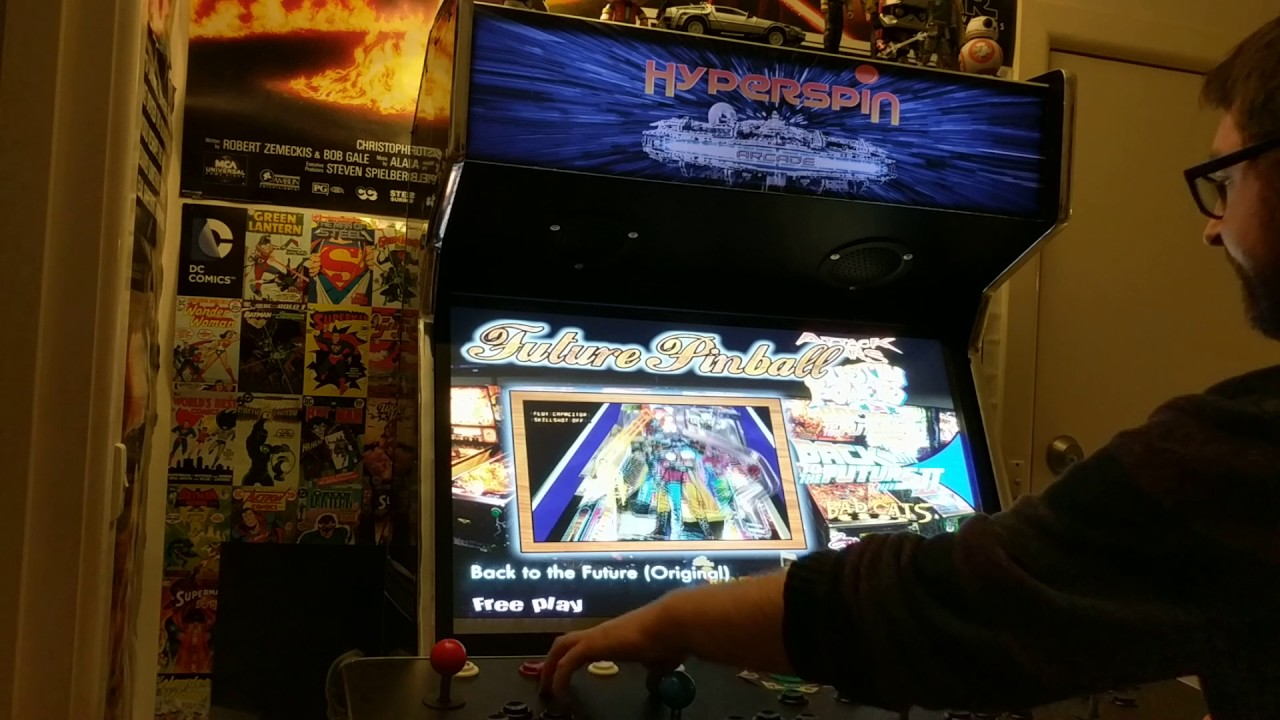4 Player MAME Hyperspin Arcade Machine - Star Wars Themed