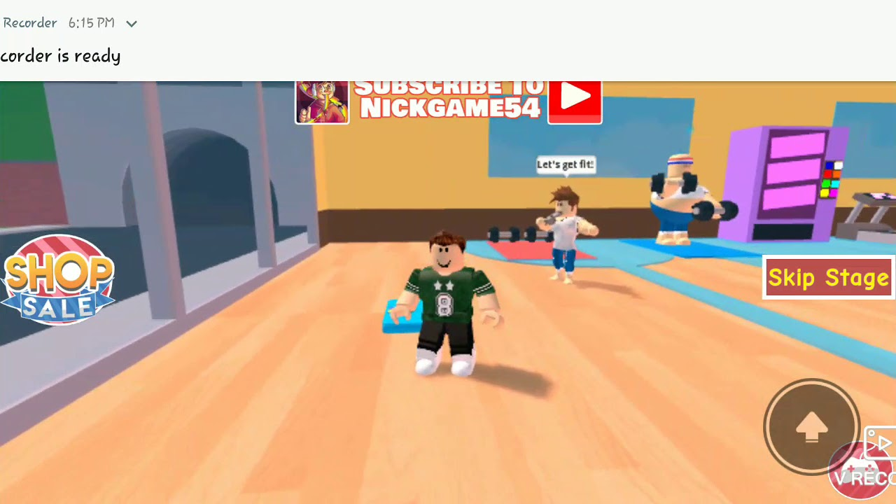 Escape The Evil Gym Obby Roblox Youtube