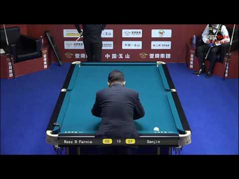 Ross Fernie VS Sanjin Pehlivanovic - Men - 2017 Chinese Billiards World Championship