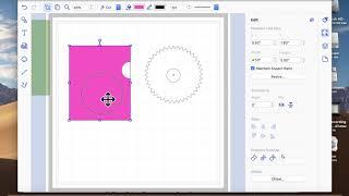 brother scan-n-cut-tutorials, Wie Sie zum erstellen der Mechanismus für das Rad enthüllen Karte.
