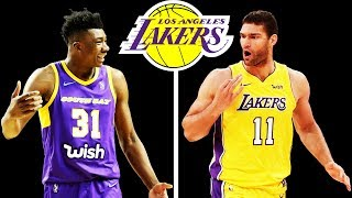 How the Lakers Should Fill the Center Position