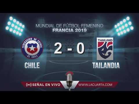 Mundial Femenino Francia 2019: CHILE VS TAILANDIA