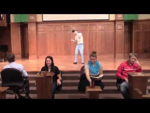 Hesston College Thanksgiving Talent Show Auditions
