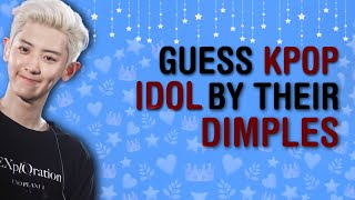 [ !! ] SWEETNESS OVERLOAD | COULD YOU RECOGNIZE KPOP IDOL'S DIMPLES?