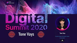Digital Summit 2020 Day 3.1 Broadcast of the speech by Tone Vays (Derivatives Trader & Consultant)