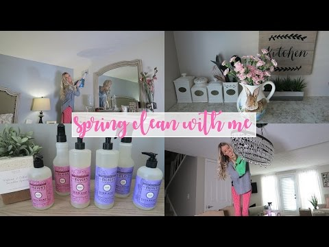 Spring Clean With Me! | Erica Lee