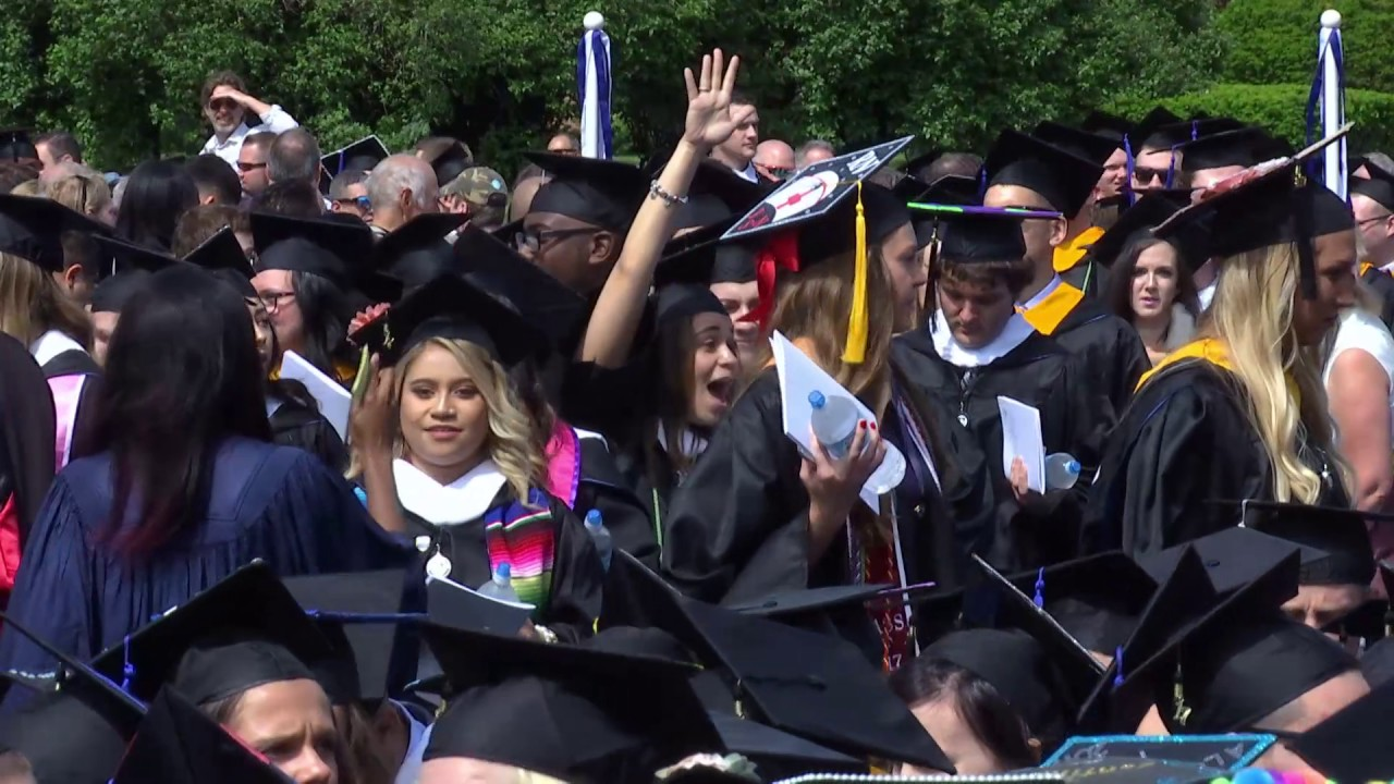 2017-05-27 Elmhurst College Commencement 10am