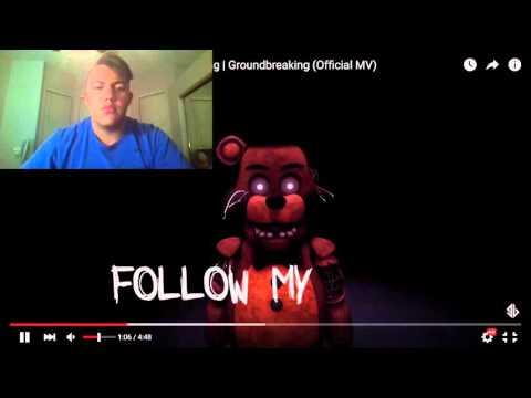 Mr. Fazbear | Five Nights At Freddy's Song | Groundbreaking REACTION
