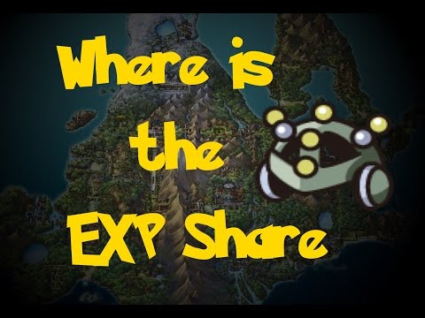 Where Is: The EXP Share (Pokemon Diamond/Pearl/Platinum)