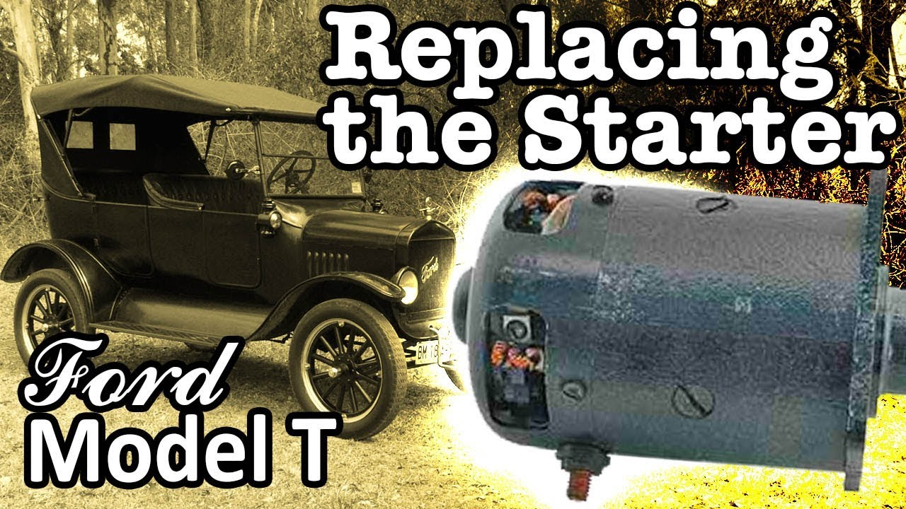 model t starter motor