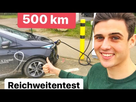 wie viel zeit brauche ich l 500 km reichweitentest renault zoe ze40 youtube. Black Bedroom Furniture Sets. Home Design Ideas