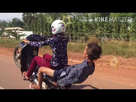 ថ្ងៃទី២ មីនា ឆ្នាំ២០១៨ fly Moto Kps 🚀🚁🏞🛣