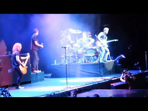 Night Ranger - Sister Christian w/ Journey's Deen Castronovo - Key Arena - Seattle, WA 10/21/11