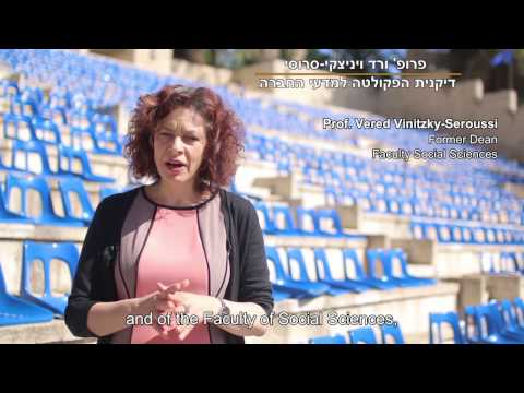 Enjoy #ThatMomentWhen with Hebrew U's Faculty of Social Sciences