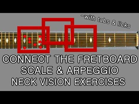 Killer Guitar Neck Navigation Connect scales amp arpeggios exercises amp licks