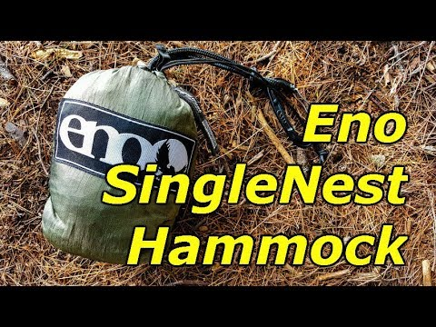 eno eagles nest outfitters singlenest hammock review eno eagles nest outfitters singlenest hammock review   youtube  rh   youtube