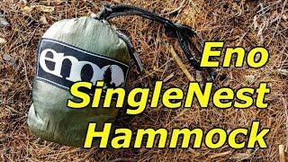 ENO Singlenest Hammock Setup -- Review