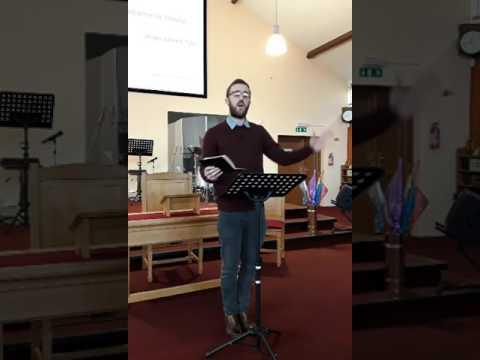 Rev Jon Davis Sunday Morning 05 02 17