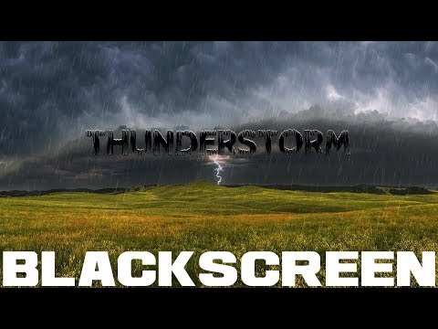 Loud Thunder And Rain For Sleep Meditation Rain Sounds For SLeep Relaxation