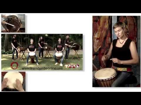 Learn Djembe Online - Introduction by Tara Tucker