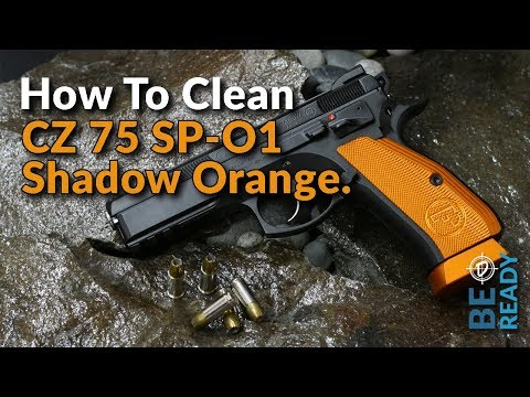 PBD-TV Episode 21: How to Clean a CZ 75 SP-O1 Shadow Orange