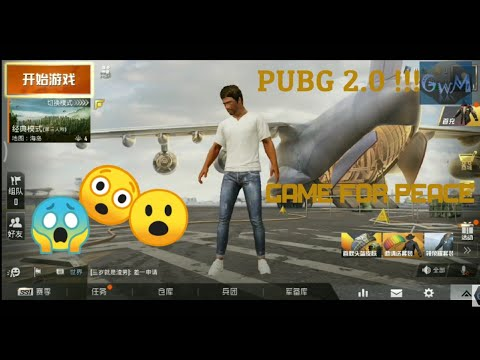 pubg-2.0-!!!-or-game-for-peace-|-new-game-by-tencent-|-android/ios-first-look-&-gameplay