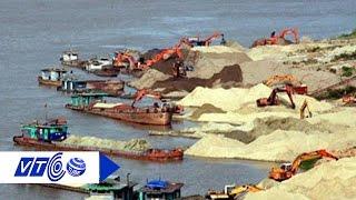 Sông Hồng 'dính' cát tặc, đội tuần tra làm ngơ | VTC