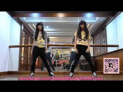2ne1(CL)-멘붕 MTBD by Sandy&Mandy (cover) (畫面加強版)