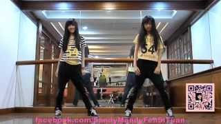 Repeat youtube video 2ne1(CL)-멘붕 MTBD by Sandy&Mandy (cover) (畫面加強版)