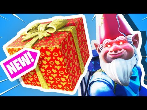 Fortnite CHRISTMAS ONLY Challenge! (Fortnite Presents)
