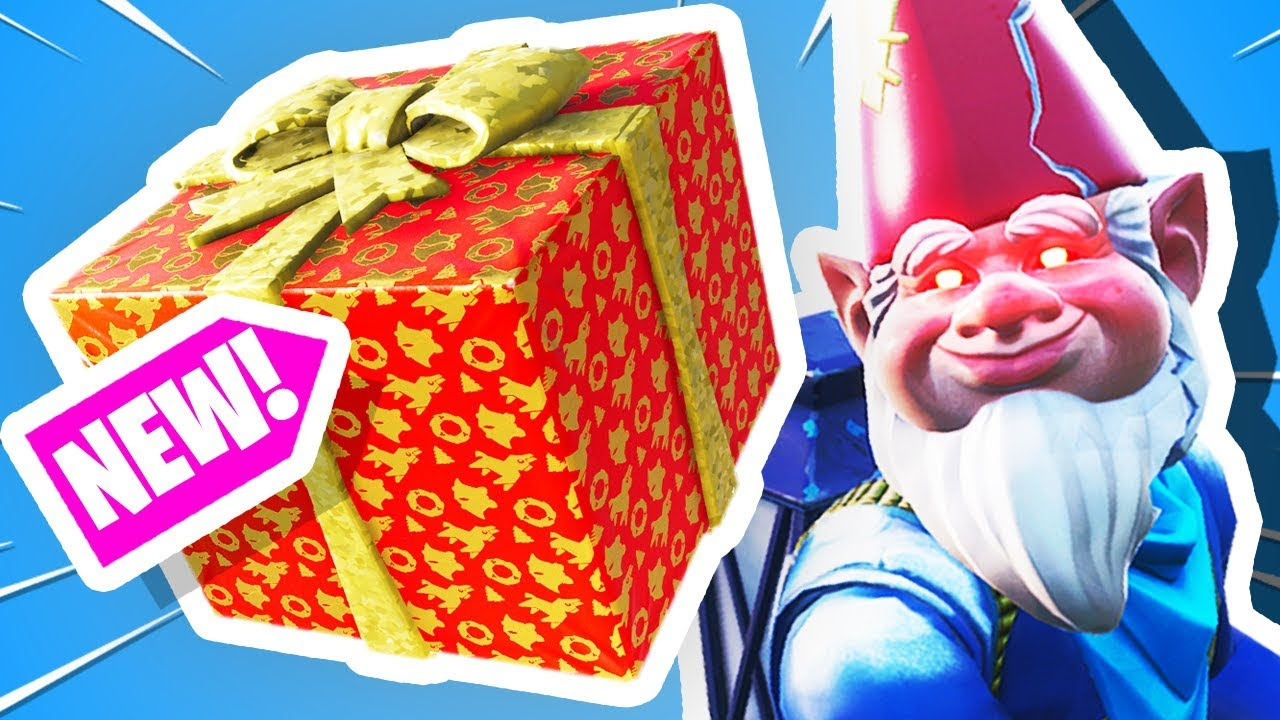 Fortnite Christmas Only Challenge Presents Youtube