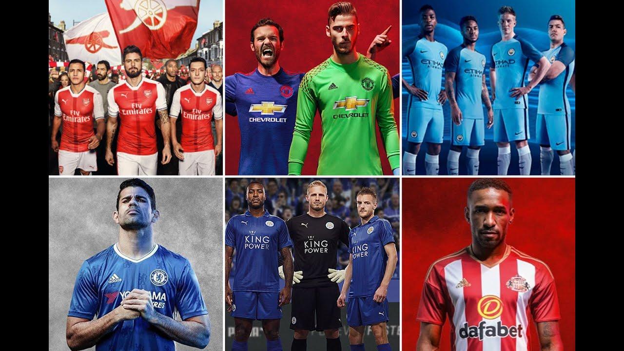 79add0b11f4 Premier League 2016-17 new kits  See what Liverpool