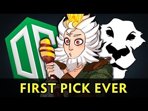 Monkey King first pick on proscene — OG vs Ad Finem