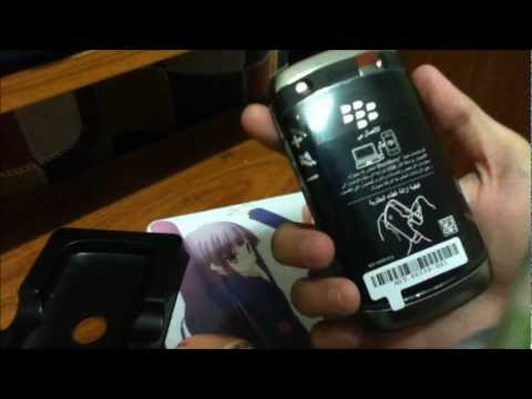 Blackberry Curve 9380 Unboxing