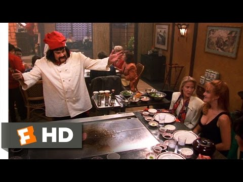Beverly Hills Ninja (5/8) Movie CLIP - Haru the Hibachi Chef (1997) HD