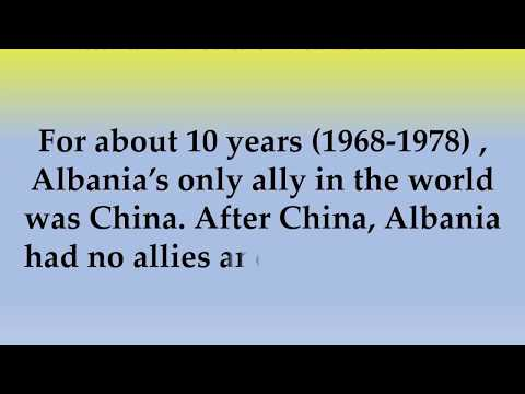 Historical and Cultural Facts about Albania
