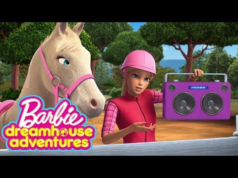 Trey is For Horses | Barbie Dreamhouse Adventures | Barbie