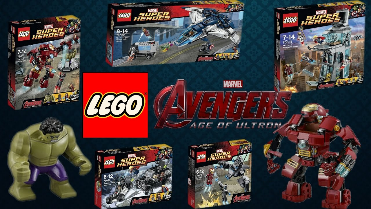 NEW Lego Marvel Avengers: Age of Ultron 2015 Official ...