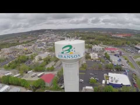 Fun & Famous Branson, MO Attractions - Filmed by DJI Phantom 2 Drone