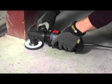 removing paint from concrete with the rotozip rotosaw youtube. Black Bedroom Furniture Sets. Home Design Ideas