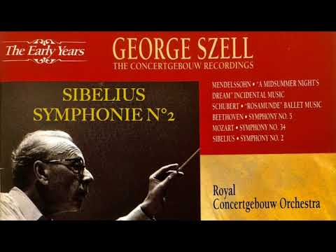 Sibelius - Symphony No.2 + Presentation (reference recording : George Szell / Concertgebouw)