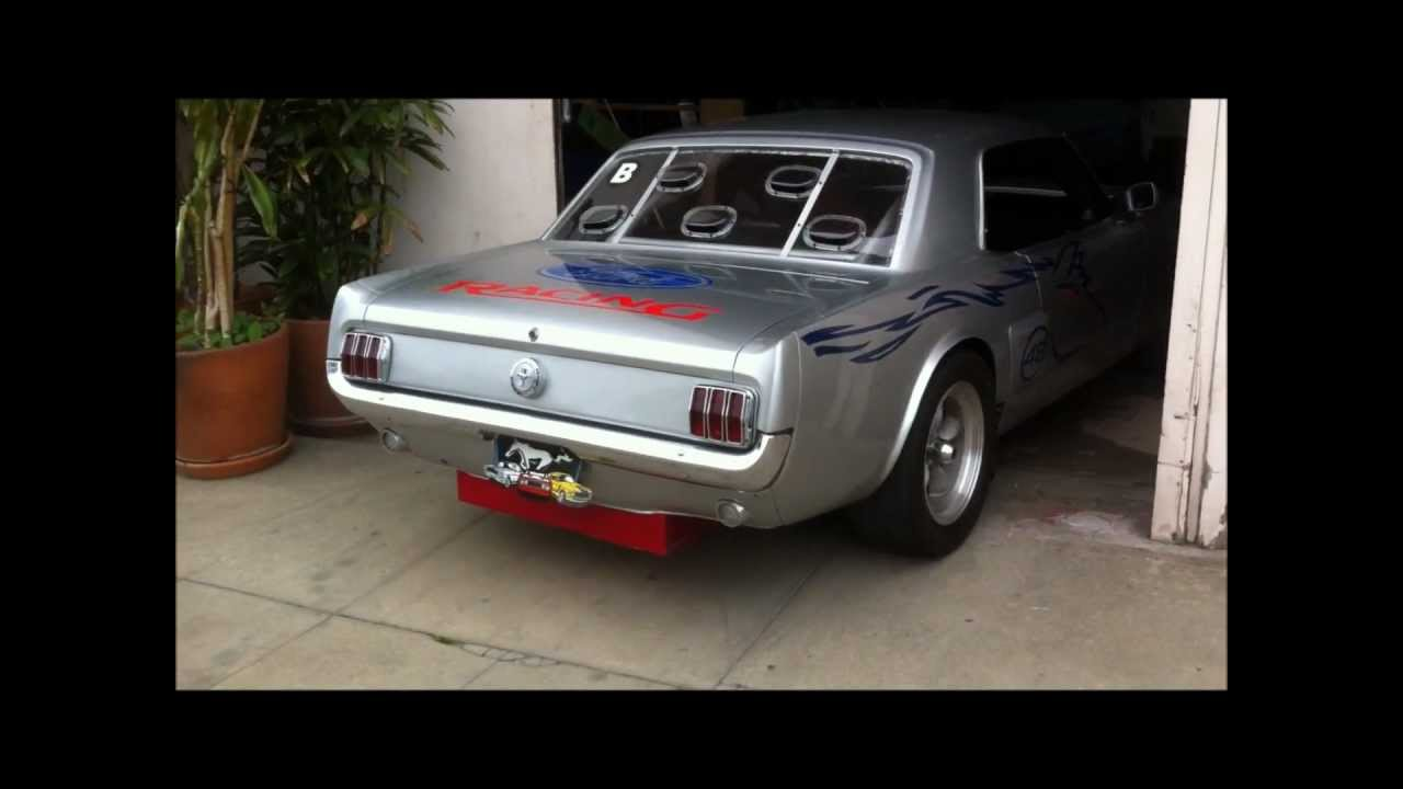 Vintage Mustang Race Car For Sale